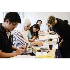 Programme für Studium und Beruf mit Hybrid-Deutschkurs
