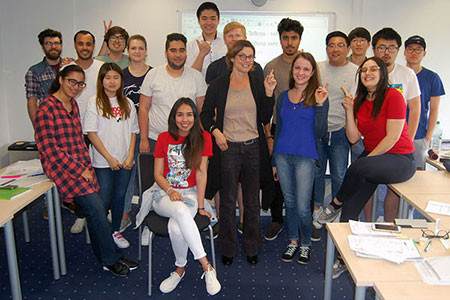 German as a Foreign Language Intensive Course Flex Option (hybrid)